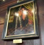 'Portrait' of John de Balliol, in Balliol College Hall.