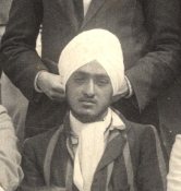 HS Malik, Balliol Cricket Past & Present 1914. Balliol College Archives PHOT 24.03