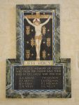 St Cross parish war memorial (WW1)