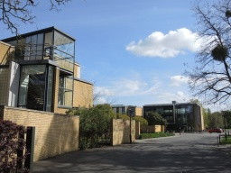 entrance to St Catherine's College, Manor Road